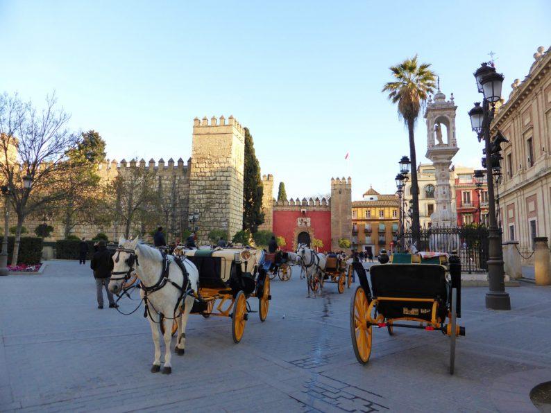 Plaza del Triunfo, Séville