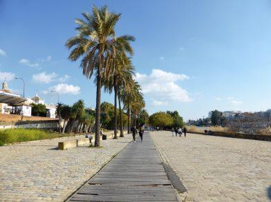 les bords du Guadalquivir, Séville