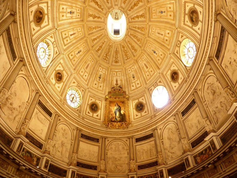 plafond salle du Chapitre, Cathédrale de Séville