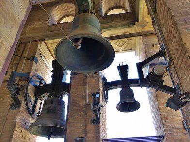 cloches au sommet de la Giralda, Cathédrale de Séville