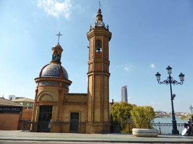 la chapelle du Carmel, quartier du Triana, Séville