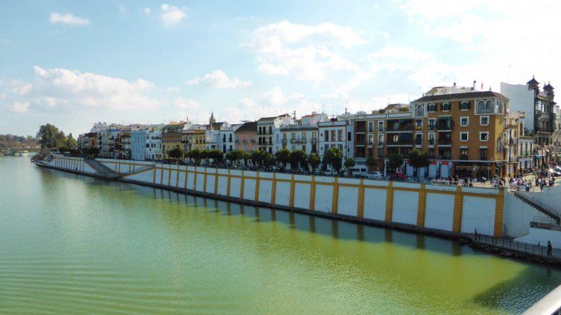 le quartier du Triana, Séville