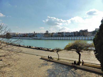 es bords du Guadalquivir, Séville