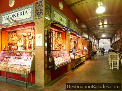 marché couvert, quartier du Triana à Séville