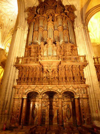 orgue, Cathédrale de Séville