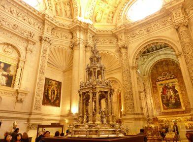 ostensoir, Cathédrale de Séville