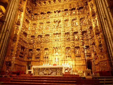 retable, cathédrale de Séville