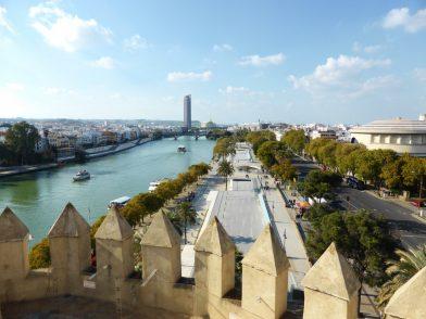 vue depuis la Tour de l'Or, Séville