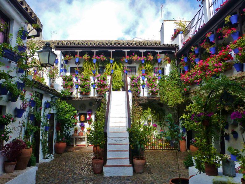 casa-patio San Basilio, Cordoue
