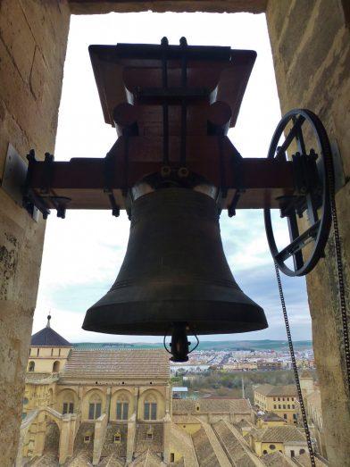 cloche, mosquée-cathédrale, Cordoue