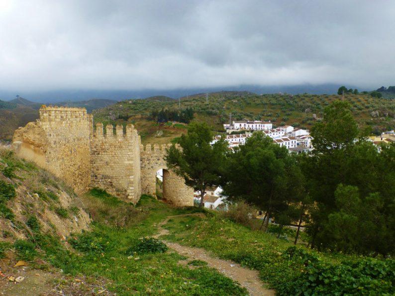 vestiges de remparts, Antequera