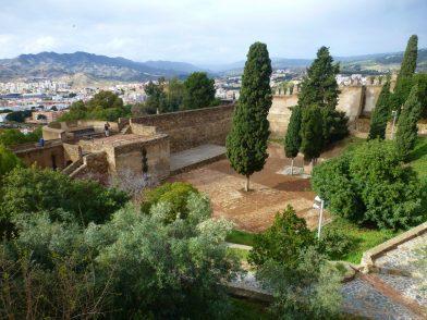 château de Gibralfaro, Malaga