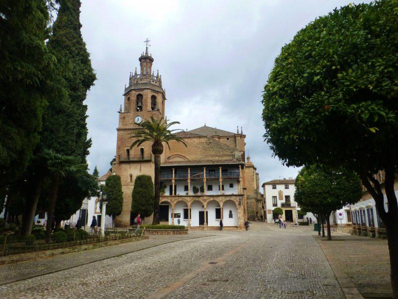 Eglise Santa Maria la Mayor, Ronda en Espagne