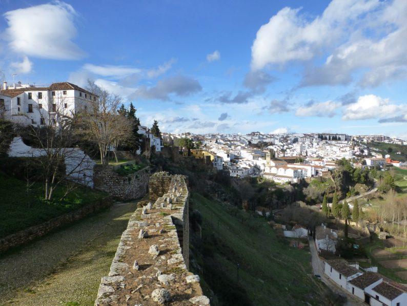 La vieille ville de Ronda, Andalousie