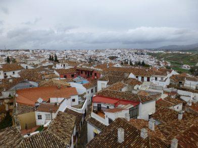 vue depuis l'église Santa Maria la Mayor, Ronda