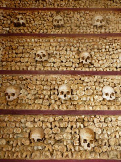 chapelle des os, église du Carmel, Faro