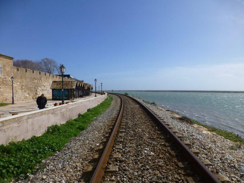 chemin de fer de Faro, Portugal