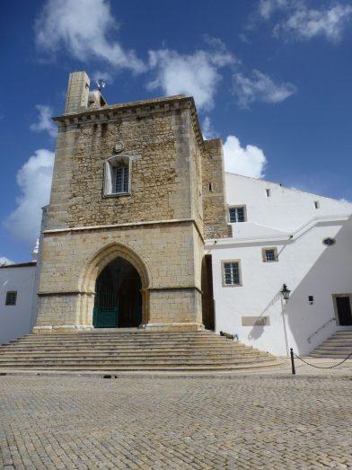 la cathédrale de Faro, Portugal