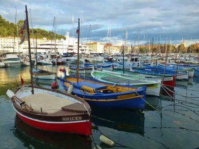 Pointus au port Lympia à Nice
