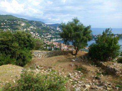 Vue sur Villefranche depuis le Fort du Mont Alban