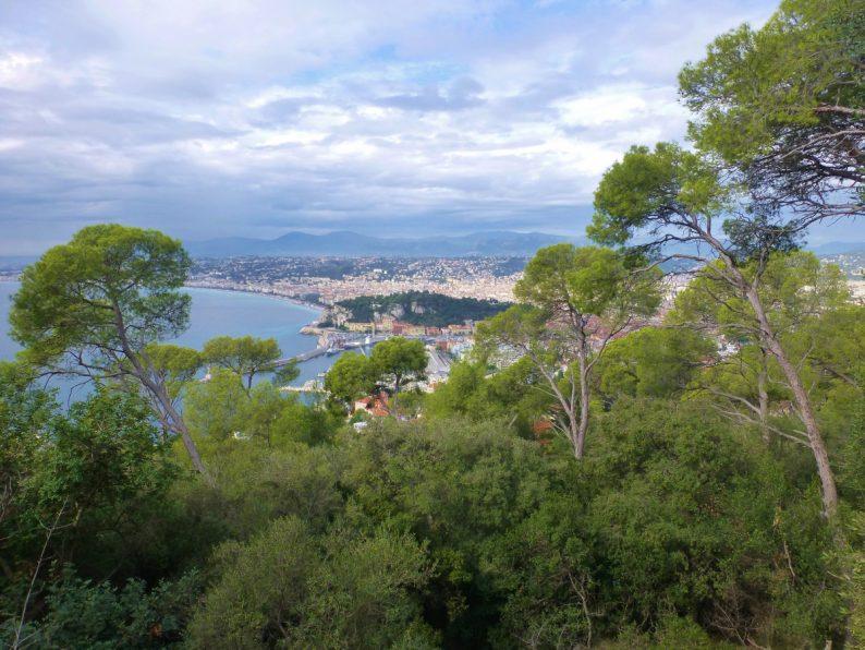 vue sur Nice du Parc du Mont Boron