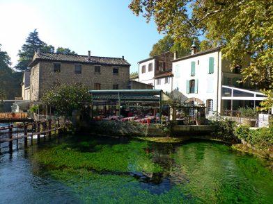 Fontaine de Vaucluse, luberon