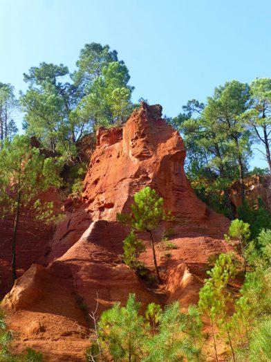 Le sentier des ocres, Roussillon