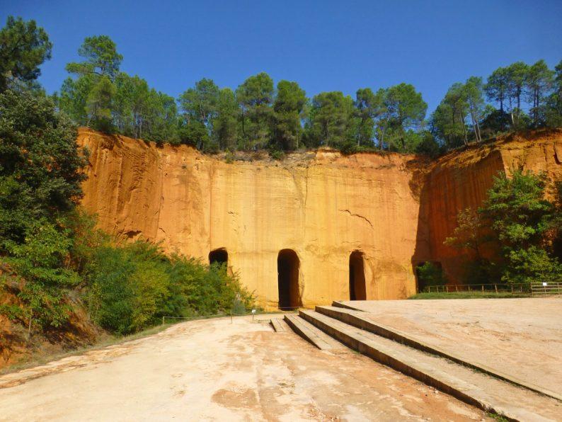 Les Mines de Bruoux, Lubéron
