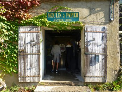 Moulin à papier, Fontaine de Vaucluse