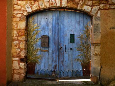 Le village de Roussillon, Lubéron