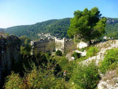 château des évêques de Cavaillon, Fontaine de Vaucluse