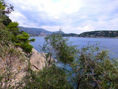 sentier du littoral, de Villefranche-sur-mer à Nice
