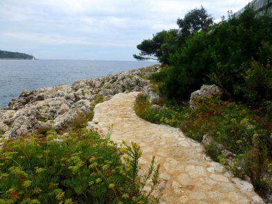 sentier du littoral, Villefranche-sur-mer