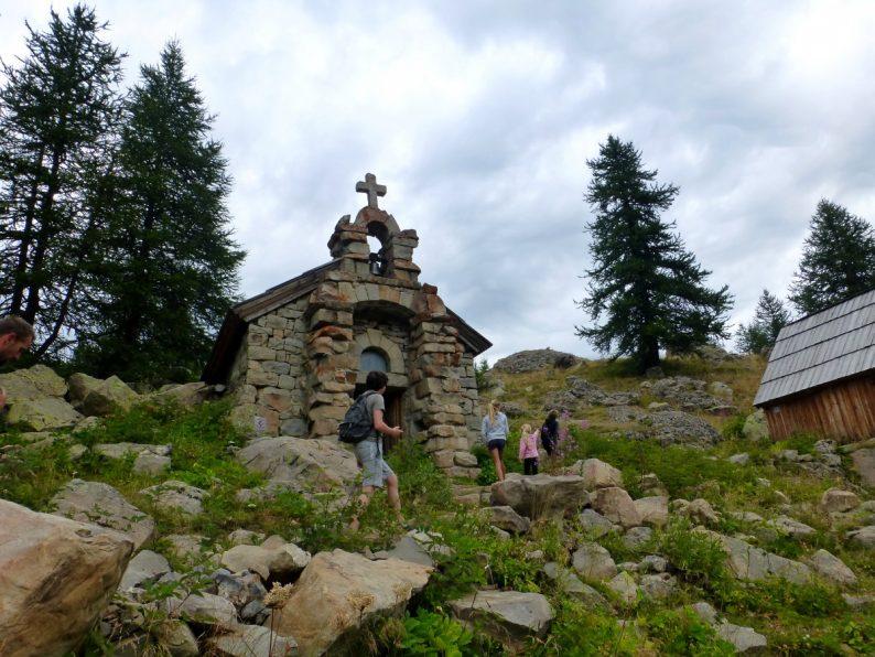 Notre-Dame des Monts, lac d'Allos, Parc National du Mercantour