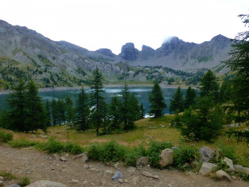 Le lac d'Allos, parc National du Mercantour