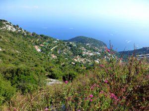 Vue depuis le Fort de la Revère, Alpes-Maritimes
