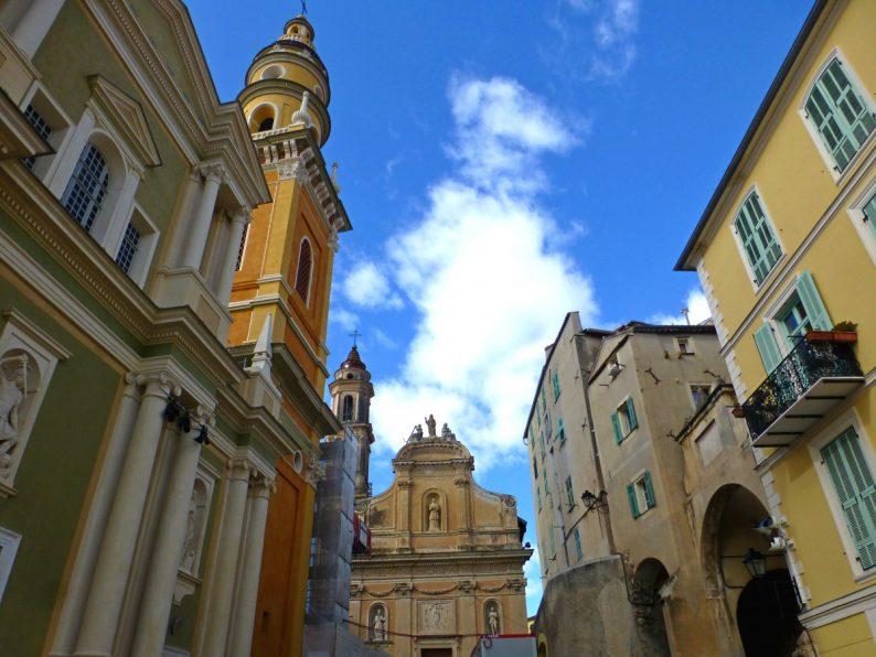 la Basilique Saint-Michel et la Chapelle de l'Immaculée Conception, Menton