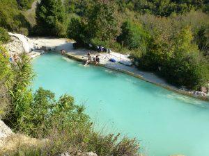 Bagno Vignoni, Toscane
