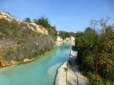 ancien thermes romains - Bagno Vignoni, Toscane