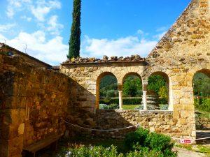 L'abbaye de Sant'Antimo, Toscane
