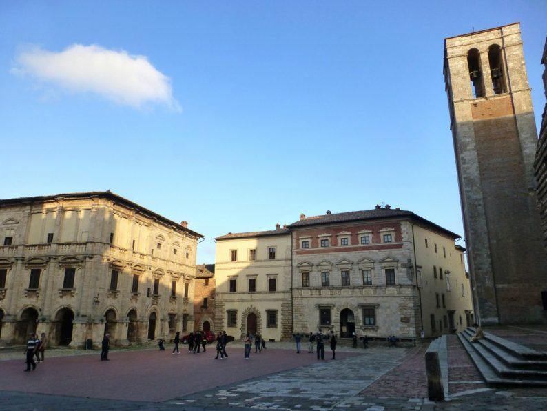 Montepulciano, Toscane