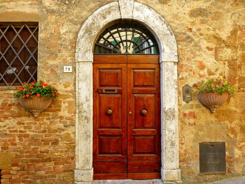 Belle porte, Pienza