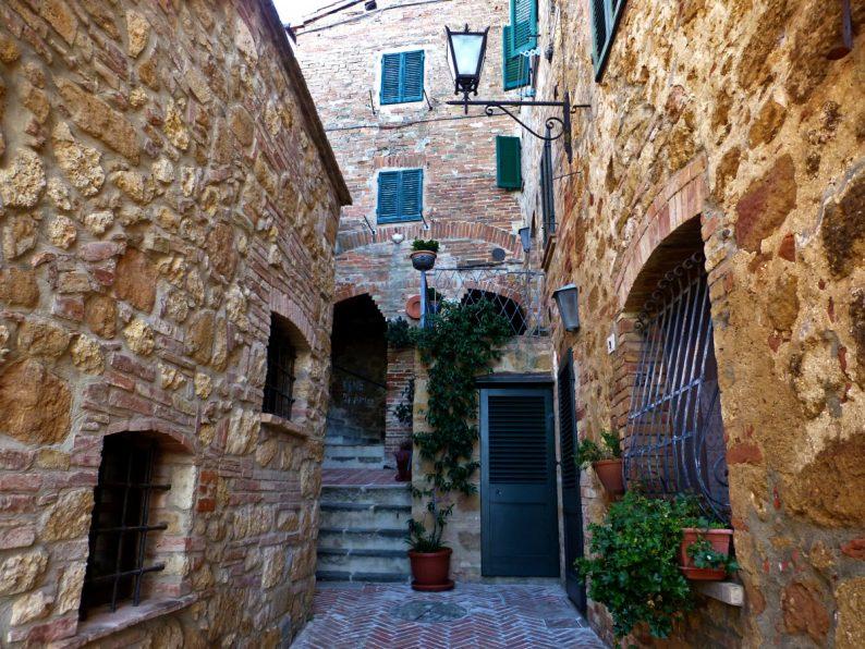 Ruelle de Pienza, Toscane